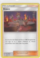 116/147 kiawe pokemon karte