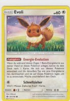 101/149 - Evoli - Boosterfrisch - deutsch - Sonne & Mond - inkl. Sleeve