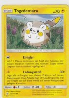 53/149 - Togedemaru - Boosterfrisch - deutsch - Sonne & Mond - inkl. Sleeve