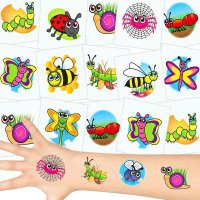 Käfer Tattoos Set - 12 Tattoos pro Pack (Preis pro Pack)